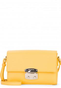 EMILY & NOAH Handtasche mit Überschlag Luca klein Gelb 62181460 yellow 460
