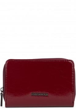 EMILY & NOAH Geldbörse mit Reißverschluss Sissi Rot 61925690 wine 690