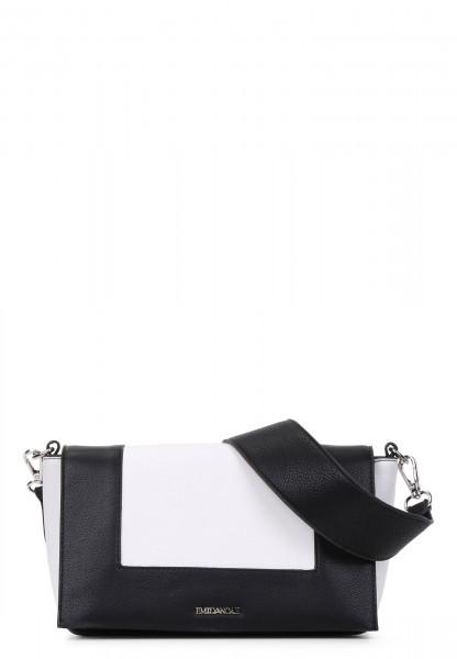 Handtasche mit Überschlag Priska No.1 quer