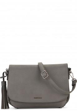 EMILY & NOAH Handtasche mit Überschlag Senta Grau 61863840 darkgrey 840