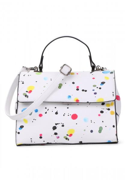 Handtasche mit Überschlag Priscilla No.1 quer