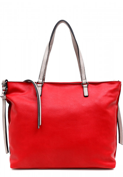 EMILY & NOAH Shopper Bag in Bag Surprise Rot 432603D-1790 red birke 603D