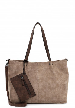 EMILY & NOAH Shopper Bag in Bag Surprise Grau 301902 taupe brown 902