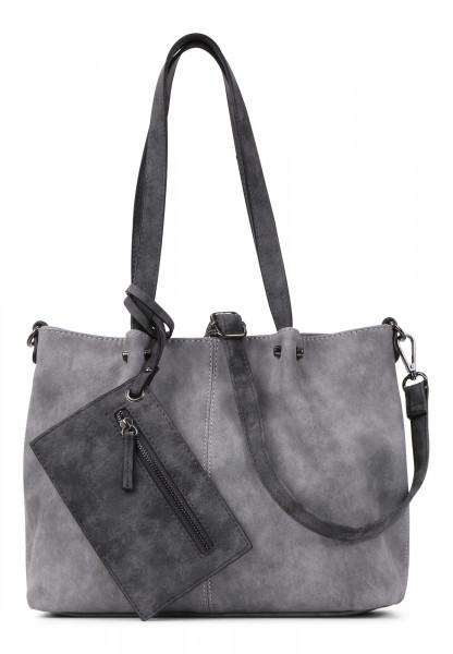 EMILY & NOAH Shopper Bag in Bag Surprise Grau 299808-1790 grey darkgrey 808