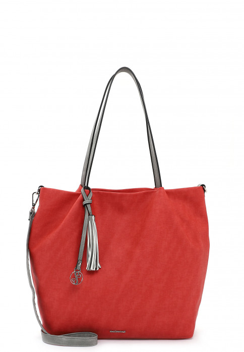 EMILY & NOAH Shopper Elke groß Rot 62792600 red 600
