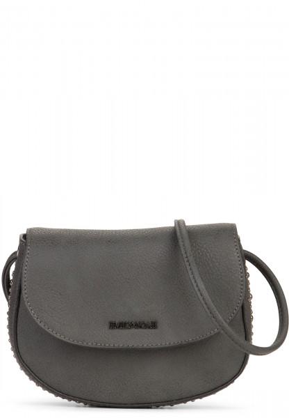 EMILY & NOAH Handtasche mit Überschlag Shirin Grau 61852850 asphalt 850