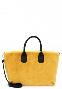 EMILY & NOAH Shopper Diana mittel Gelb 62421460 yellow 460