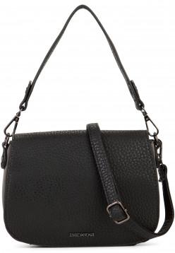 EMILY & NOAH Handtasche mit Überschlag Sue Schwarz 61953100 black 100