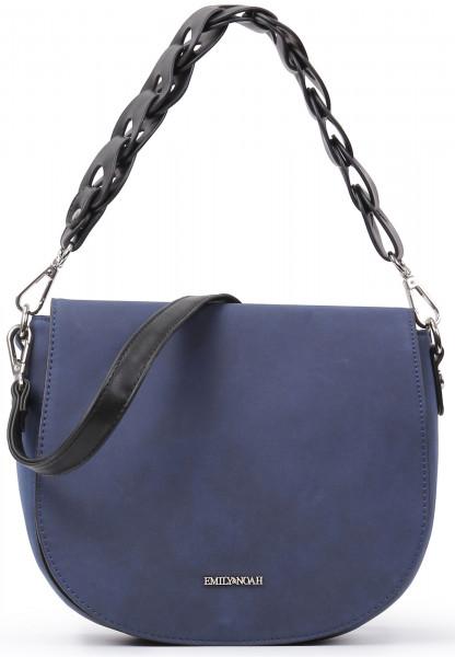 EMILY & NOAH Handtasche mit Überschlag Malin Blau 61294500-1790 blue 500