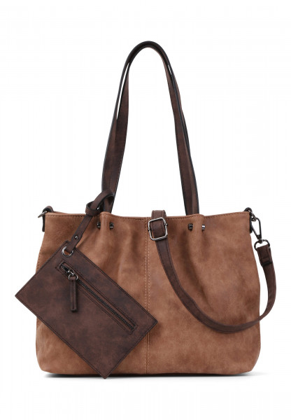 EMILY & NOAH Shopper Bag in Bag Surprise Braun 299702-1790 cognac brown 702