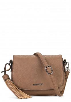 EMILY & NOAH Handtasche mit Überschlag Senta Braun 61862900 taupe 900