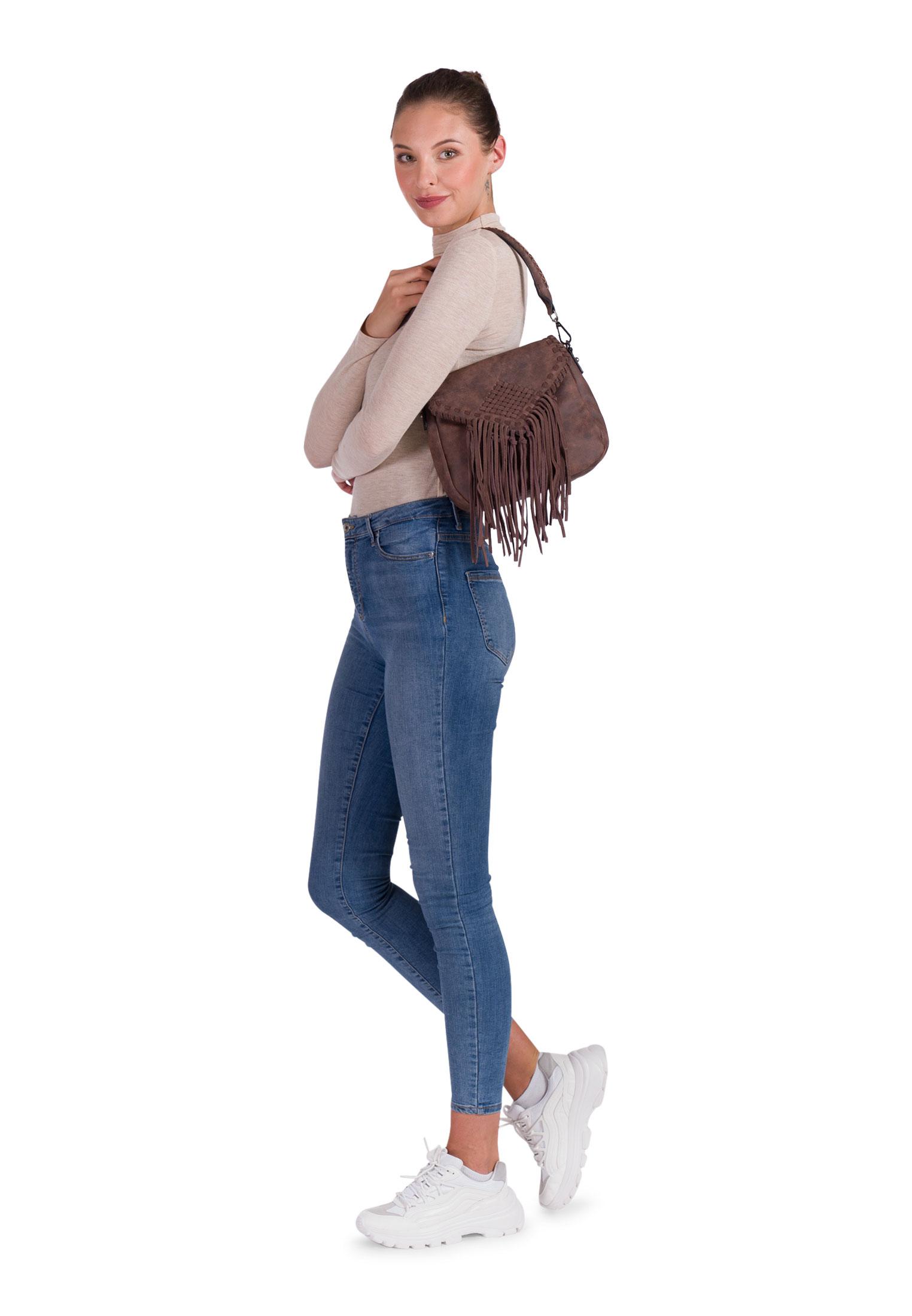 Handtasche mit Überschlag Samantha