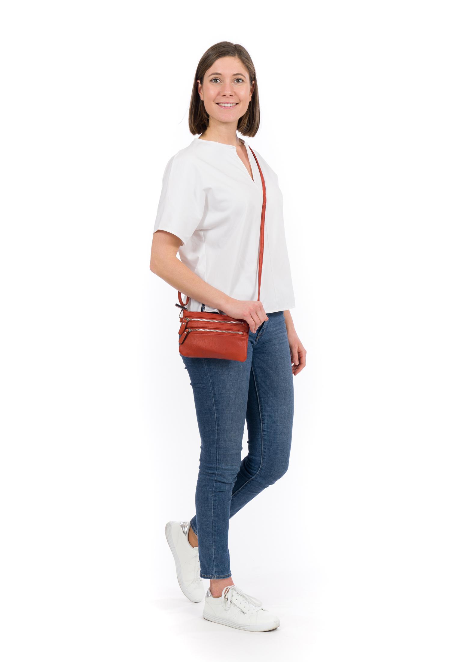 Handtasche mit Reißverschluss Emma No.1