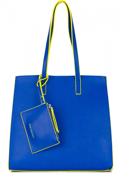 EMILY & NOAH Shopper Lina mittel Blau 62020550 royal 550