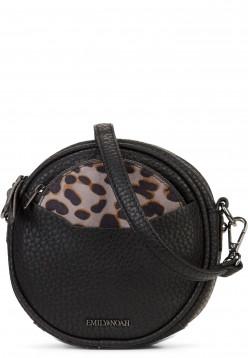 EMILY & NOAH Handtasche mit Reißverschluss Samira Schwarz 61830100 black 100