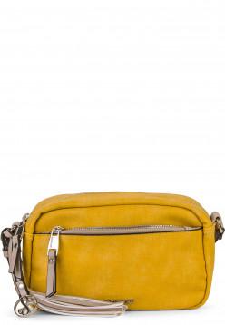 EMILY & NOAH Handtasche mit Reißverschluss Laura klein Gelb 62000460 yellow 460