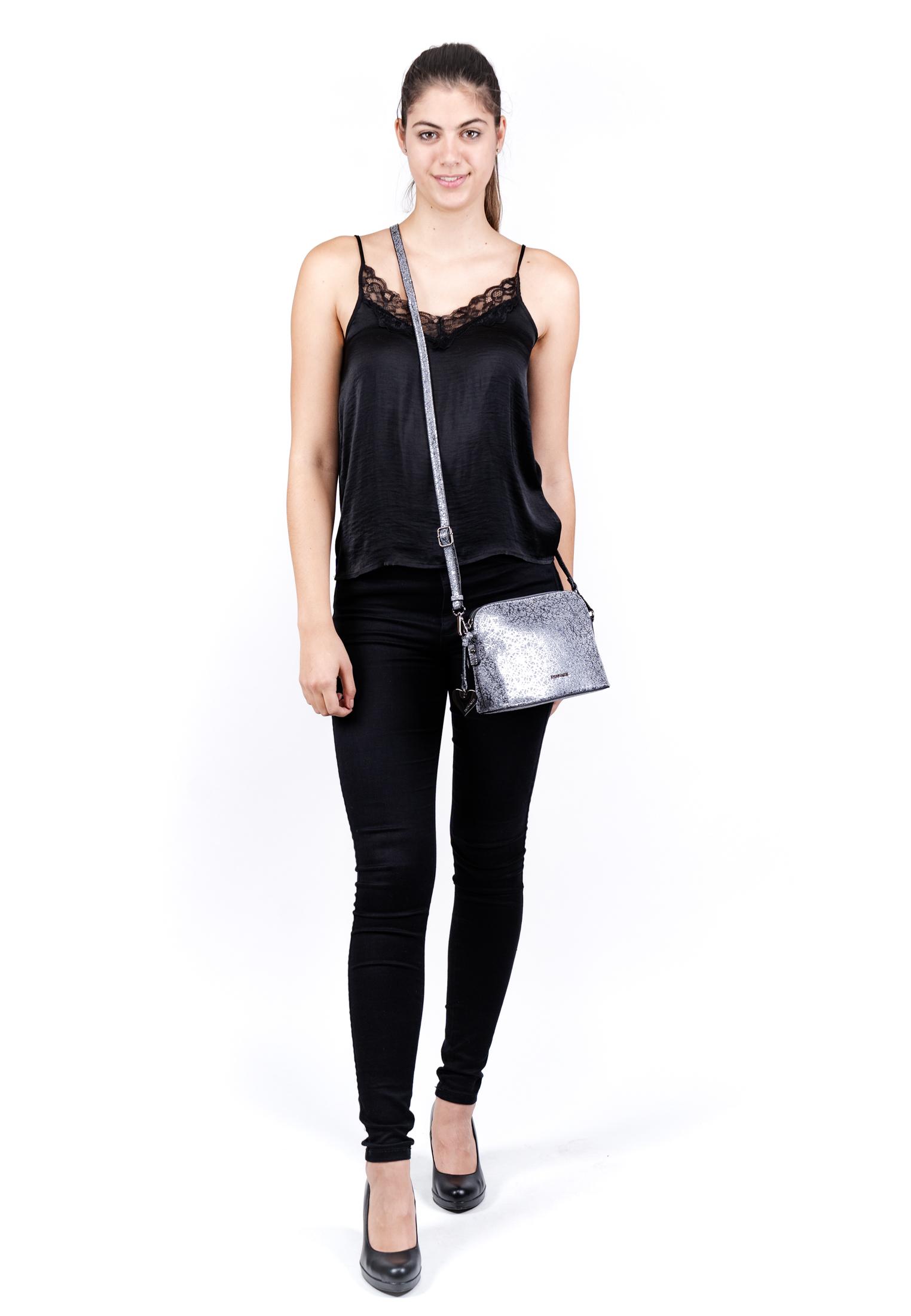 Handtasche mit Reißverschluss Mira Special Edition