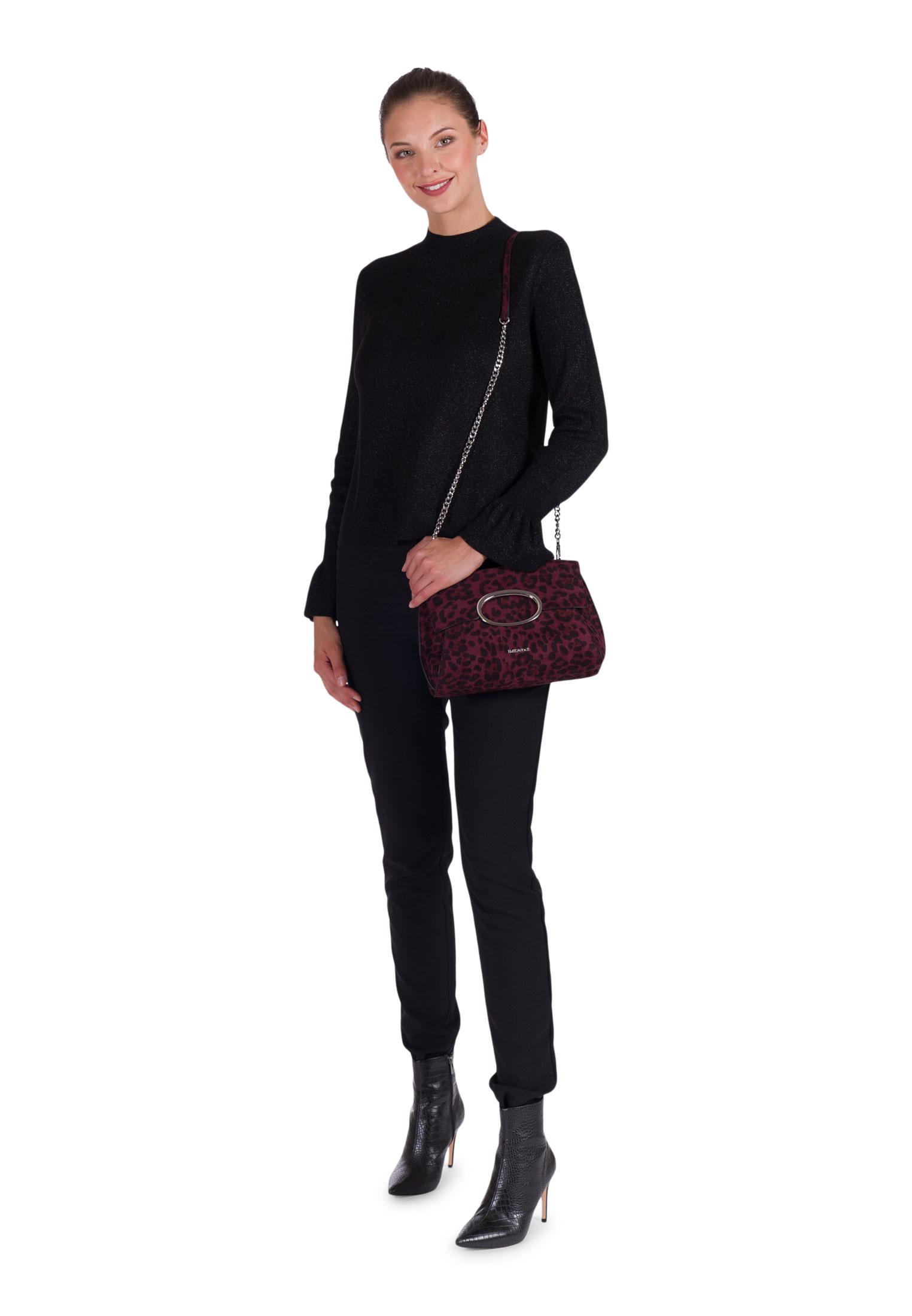 Handtasche mit Überschlag Sarah-Leo