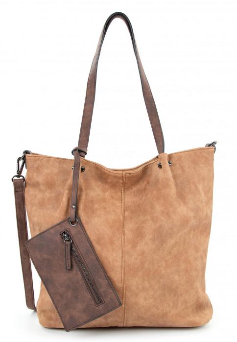 EMILY & NOAH Shopper Bag in Bag Surprise Braun 300702D-1790 cognac brown 702
