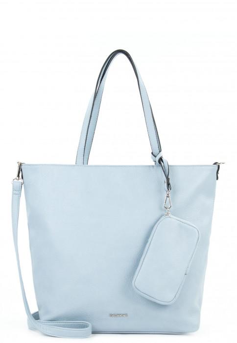 EMILY & NOAH Shopper Bag in Bag Surprise mittel Blau 311530 lightblue 530