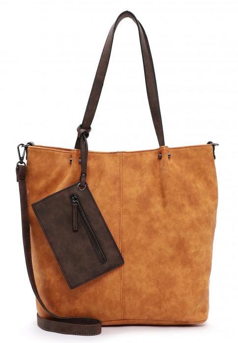 EMILY & NOAH Shopper Bag in Bag Surprise Orange 300612 orange/brown 612