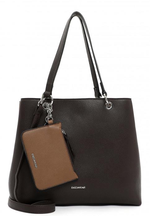EMILY & NOAH Shopper Dora mittel Braun 62435209 brown/taupe 209