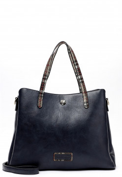 EMILY & NOAH Shopper Desiree mittel Blau 62466500 blue 500