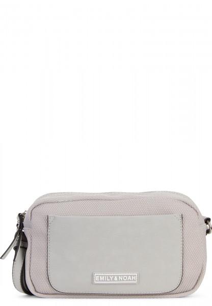 EMILY & NOAH Handtasche mit Reißverschluss Lena klein Grau 62071800 grey 800