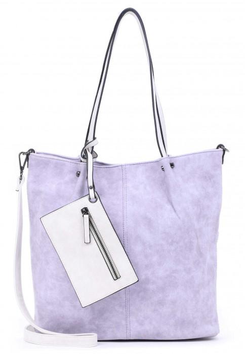 EMILY & NOAH Shopper Bag in Bag Surprise Lila 300623 lightlilac/ecru 623