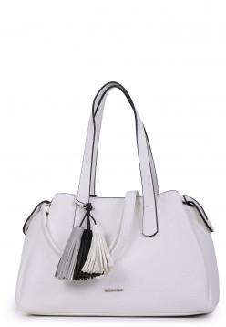 EMILY & NOAH Shopper Paola mittel Weiß 61684300 white 300