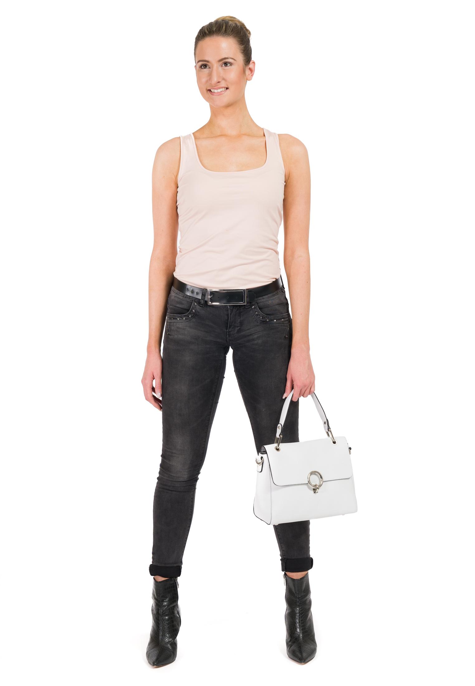 Handtasche mit Überschlag Linda mittel