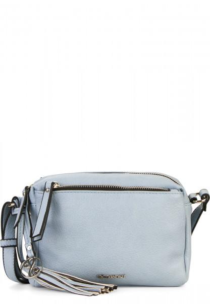 EMILY & NOAH Handtasche mit Reißverschluss Leonie klein Blau 62080530 lightblue 530