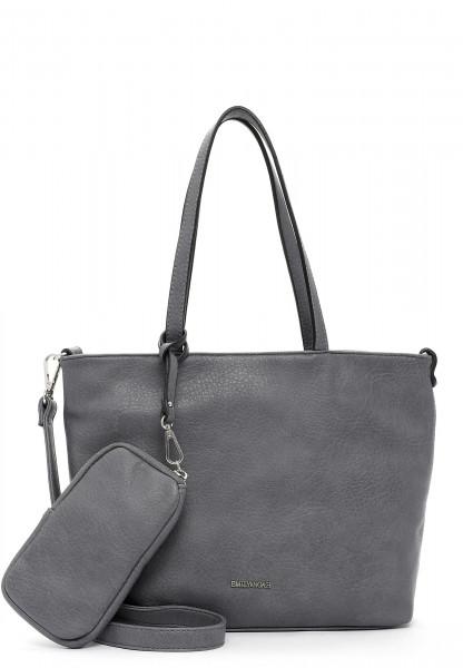 EMILY & NOAH Shopper Bag in Bag Surprise klein Grau 310840 darkgrey 840