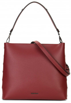 EMILY & NOAH Handtasche mit Reißverschluss Sabrina Rot 61821600 red 600