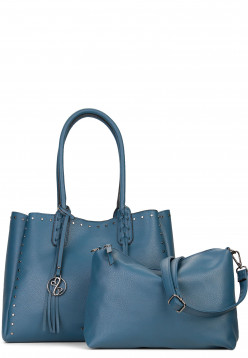 EMILY & NOAH Shopper Smilla Blau 61913560 steelblue 560