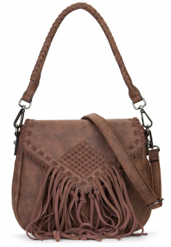 EMILY & NOAH Handtasche mit Überschlag Samantha Braun 61734200 brown 200