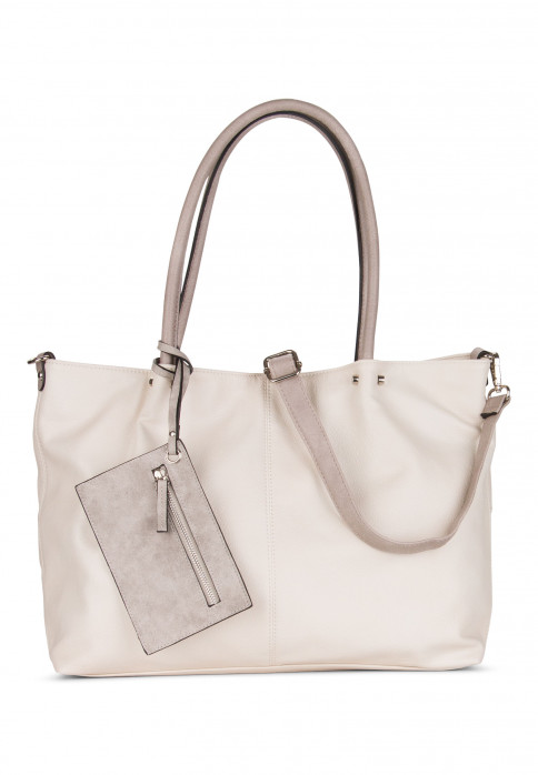 EMILY & NOAH Shopper Bag in Bag Surprise Grau 401448-1790 ice grey 448