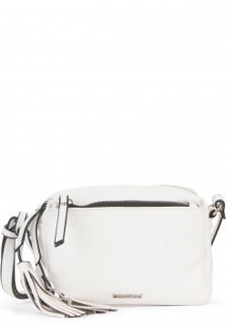 EMILY & NOAH Handtasche mit Reißverschluss Leonie klein Weiß 62080300 white 300