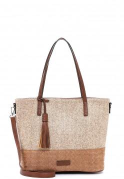 EMILY & NOAH Shopper Elena groß Beige 62804420 sand 420