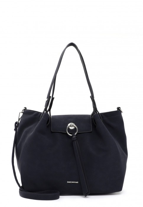 EMILY & NOAH Shopper Elina mittel Blau 62774500 blue 500